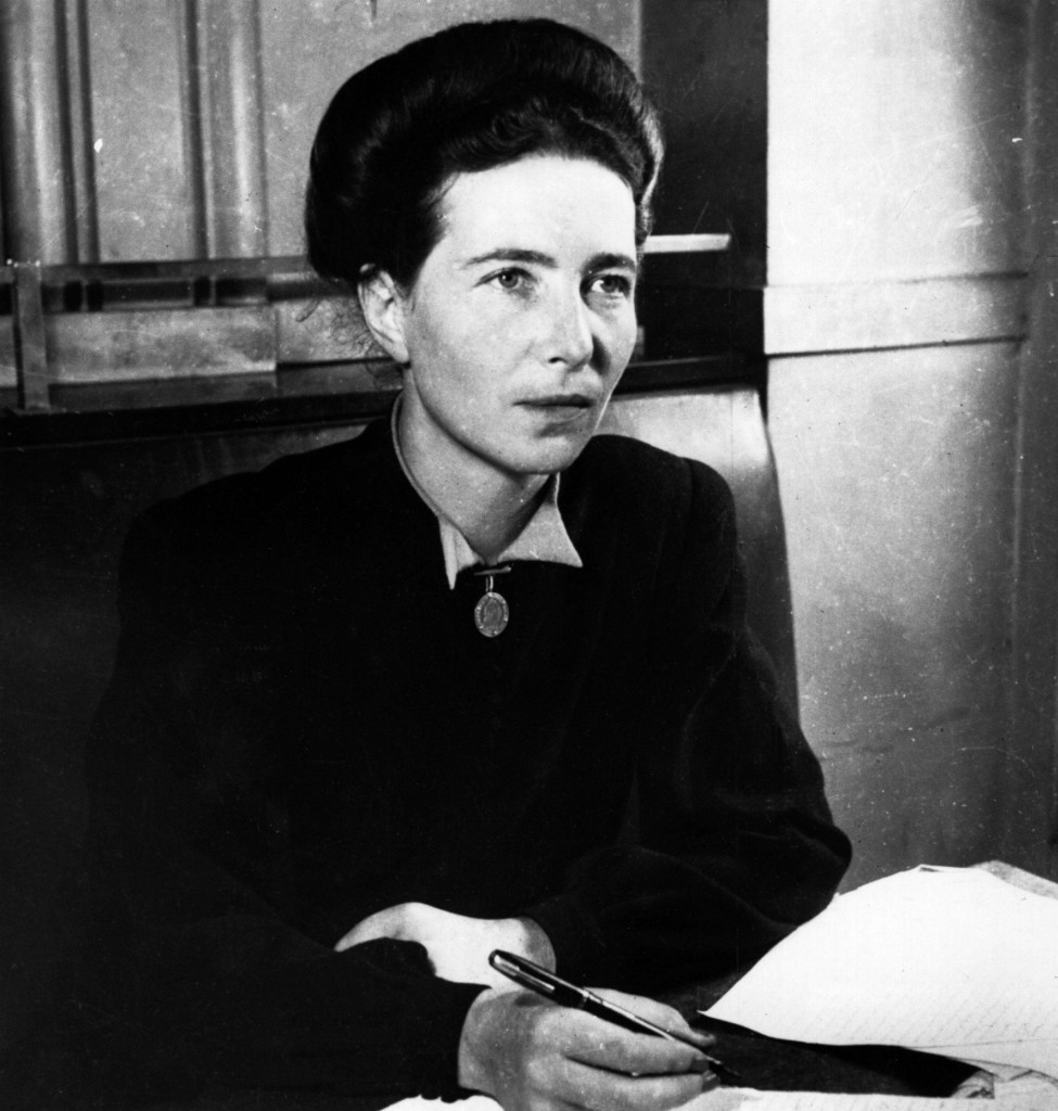 French existentialist writer and feminist Simone de Beauvoir. (Photo by Hulton Archive/Getty Images)